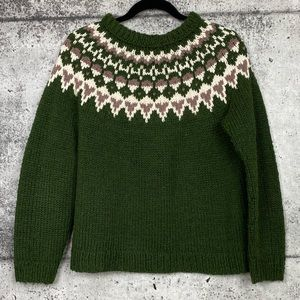 Vintage // Handmade Fair Isle Sweater